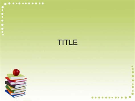 Powerpoint Template Free Download School Jdap Info Academic Ppt Template Free