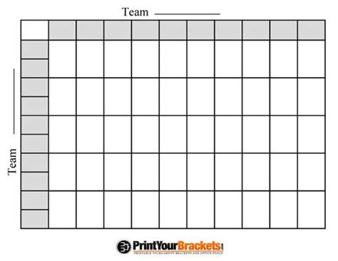 football square board template free printable football squares grid visit our store to