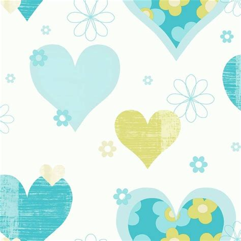 Wallpaper For Kids Bedroom arthouse happy hearts flowers luxury girls childrens kids