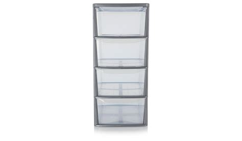 asda 4 drawer storage unit storage george at asda