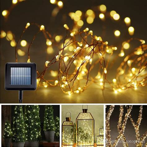 Solar String Lights Canada 100 Light Bulb Lights String Solar Powered Lights Our