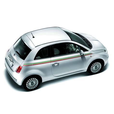 fiat or italian fiat 500 italia side stripes official fiat uk store
