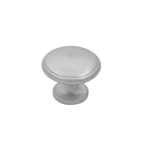 prestige 30mm brushed satin chrome knob