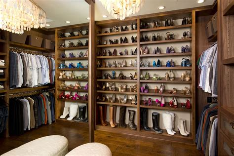 Vibrant Transitional Master Closet Before And After San