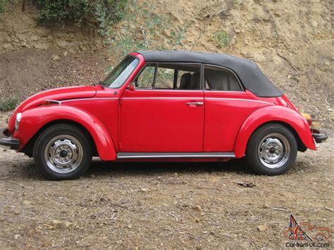 vintage volkswagen convertible classic vw super beetle convertible