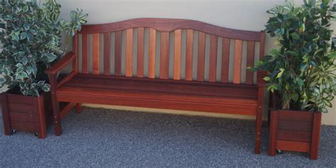 outdoor benches australia timber outdoor furniture perth jarrah outdoor furniture
