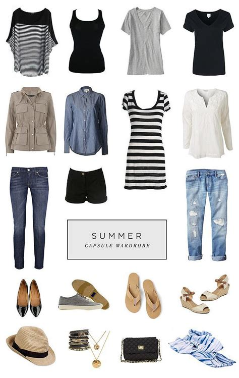 8 Great If Unfashionable Wardrobe Favourites by Favorite Summer Capsule Wardrobe From