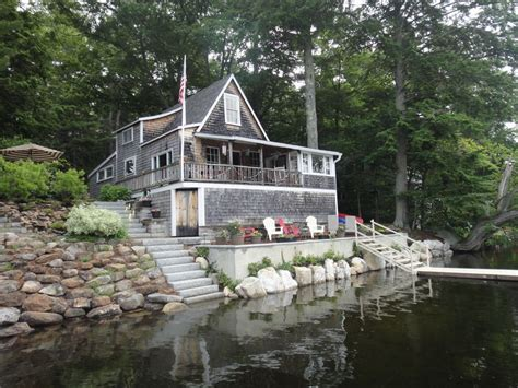Home Away Maine by Lake Front Cottage In Beautiful Mid Coast Maine Vrbo