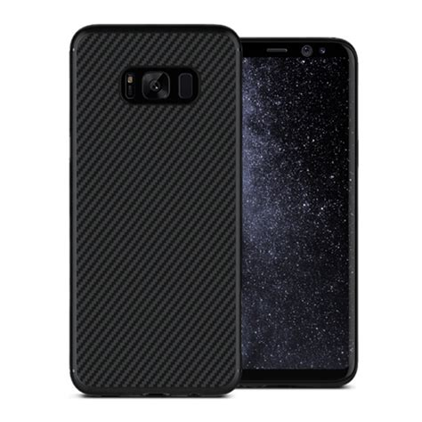 Samsung Galaxy S8 Plus Nillkin Carbon Fiber Soft Armor Bumper Tpu nillkin carbon fibre samsung galaxy s8 black
