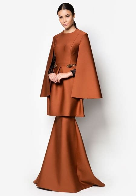 Foto Baju Kurung Moden Terkini muslimah moden fesyen hairstylegalleries