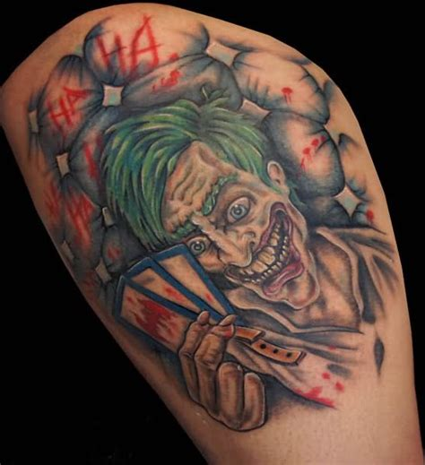 evil joker tattoo meaning evil joker drawing tattoo pictures to pin on pinterest