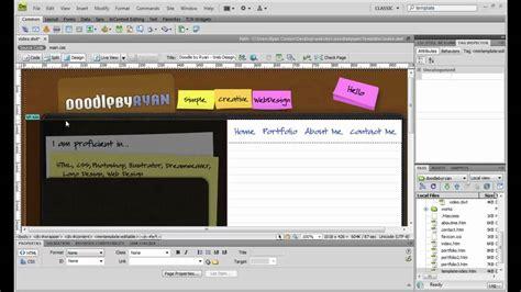 template in dreamweaver how to create a template in dreamweaver