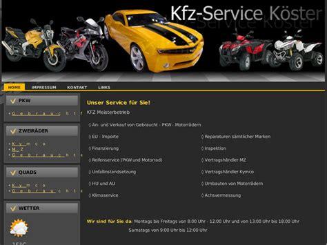 kfz service kfz service k 246 ster in oederquart motorradh 228 ndler