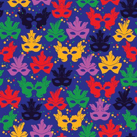 seamless pattern brush photoshop seamless pattern with carnival mask photoshop vectors