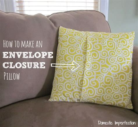 how to make an envelope pillow 25 best ideas about make an envelope on