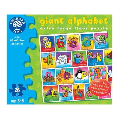 Abc Floor Puzzle by Orchard Toys Alphabet Jigsaw Floor Puzzle 3yrs