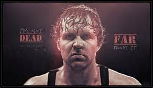 Main event 14 09 23 dean ambrose isn t houdini but he knows his