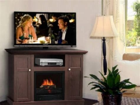 Small Corner Electric Fireplace Tv Stand Wildon Home 14 Small Corner Electric Fireplace