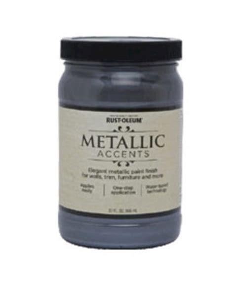 rust oleum 174 metallic accents real pewter paint 1 qt at menards 174