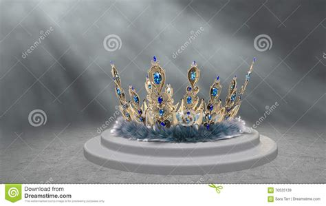 moon diadem free stock by rittik designs on deviantart peacock crown royalty free stock photo cartoondealer com
