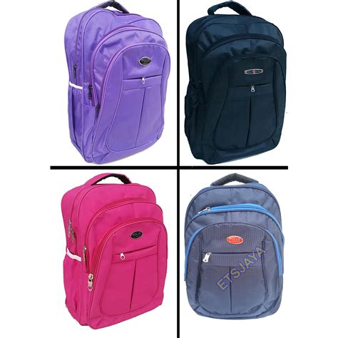 Eleven Tas Backpack Abu Abu free cover tas ransel laptop polo 4 warna