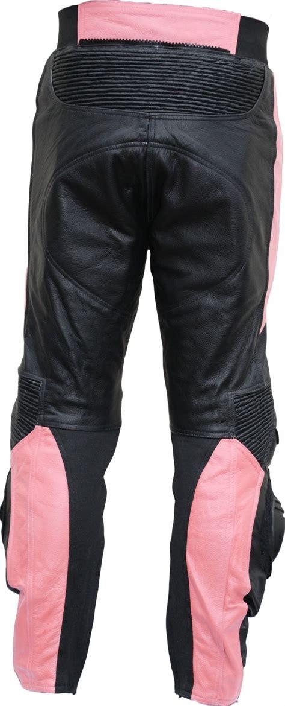 Motorradhose Damen Pink by Damen Motorradhose Motorrad Biker Racing Lederhose