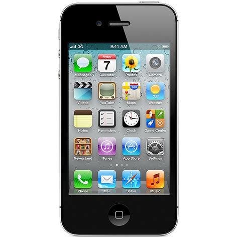 4 iphones t mobile factory unlocked iphone 4 8gb smartphone black t mobile simple mobile at t