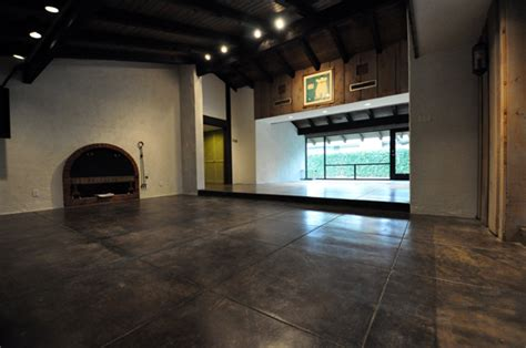 Refinish Concrete Floor by Refinishing Concrete Floors Of An Architect