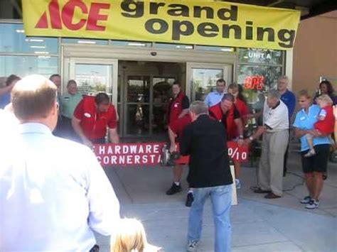 ace hardware qatar opening ace hardware at cornerstar grand opening youtube