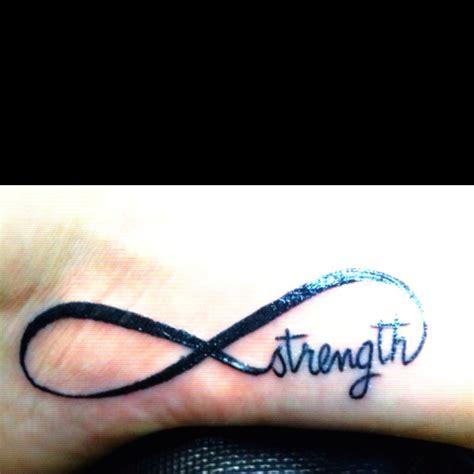 infinity tattoo strength 27 best tattoo s images on pinterest tattoo ideas