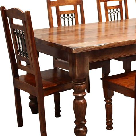 8 chair dining table set rustic furniture solid wood large dining table 8 chair set