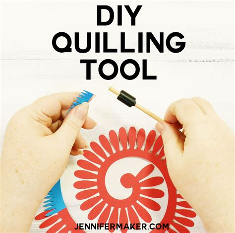 How To Make Your Own Quilling Paper - how to make your own diy quilling tool maker