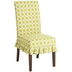high back dining chair slipcover on dining
