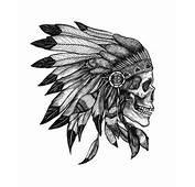 Skull Indian Tattoo  Pinterest Tattoos Skulls