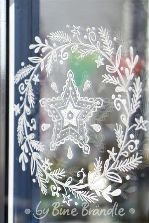 Fensterdeko Weihnachten Malen by Vorlagen Bine Br 228 Ndle F 252 R Fantastische Fensterbilder