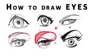 How to draw realistic happy eyes how to draw eyes from