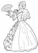 Barbie Princess Coloring Pages Printables
