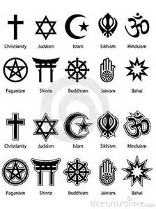 Search of religious symbols and i found many different symbols