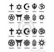 "Search Of ""religious Symbols"" And I Found Many Different Symbols"