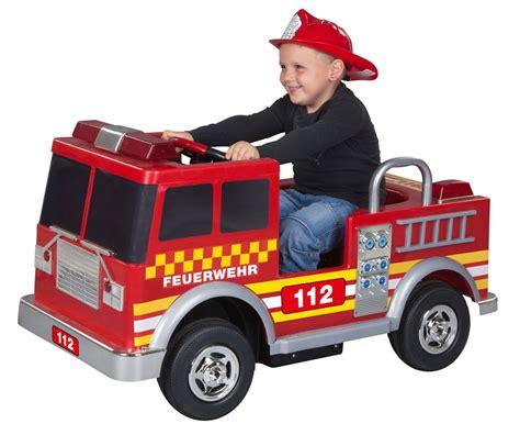 Kinder Auto Deutschland by Kinder Elektroauto Feuerwehr 12 V G 252 Nstig Online