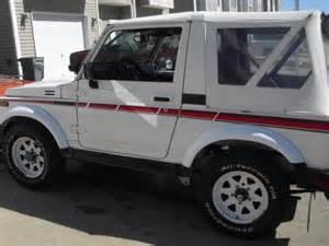 Suzuki Samurai Fuel Economy Sell Used 1987 Suzuki Samurai Jx Se Sport Utility 2 Door 1