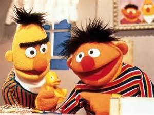 More than just friends sesame street roommates bert and ernie