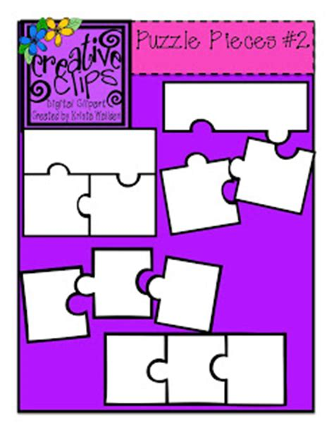 3 puzzle pieces template the creative chalkboard more freebies heck yeah and a