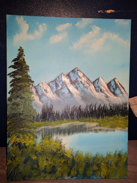 ross painting my bob ross painting distant mountains s14 e01