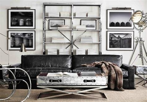 Living Room Industrial Style by 30 Stylish And Inspiring Industrial Living Room Designs