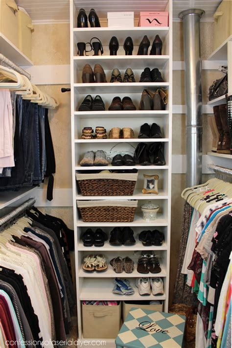 Bedroom Ideas For Small Spaces how a girl built her closet confessions of a serial do