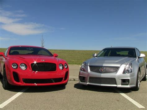 Cadillac Bentley Bentley Vs Cadillac So What Exactly Does 200 000 More