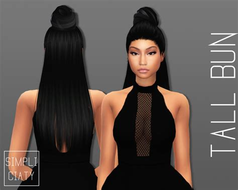 www simplicity sims 4 cc sims 4 cc s the best accessory hair buns by simpliciaty