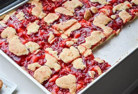 cherry kuchen bars from rachel schultz 7 sweets pinterest