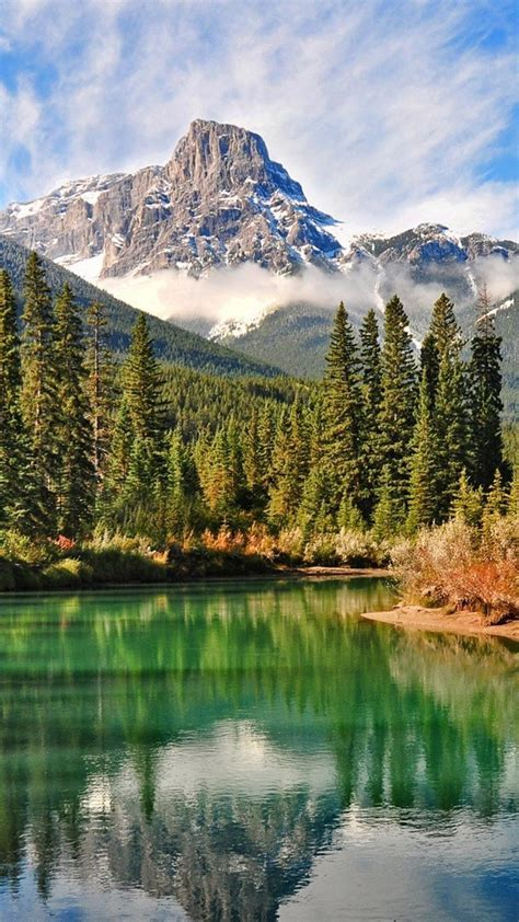 Canadian forests landscapes mountains natural scenery